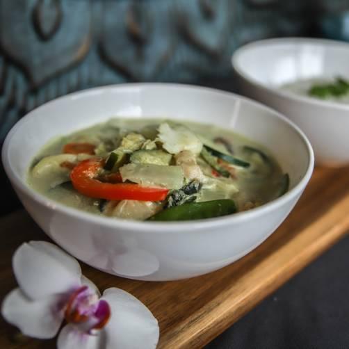 Zdjęcie Curry, Zielone Curry