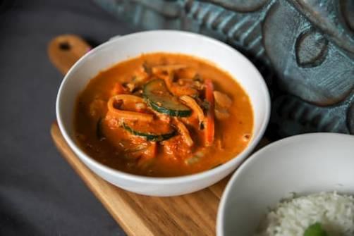 Zdjęcie Curry, Czerwone Curry